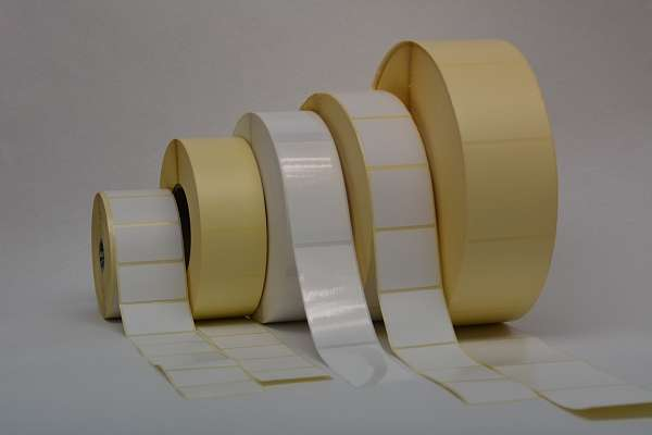 In addition to producing printed labels on rolls, Megaflex also produces blank labels on rolls. The diversity is enormous!