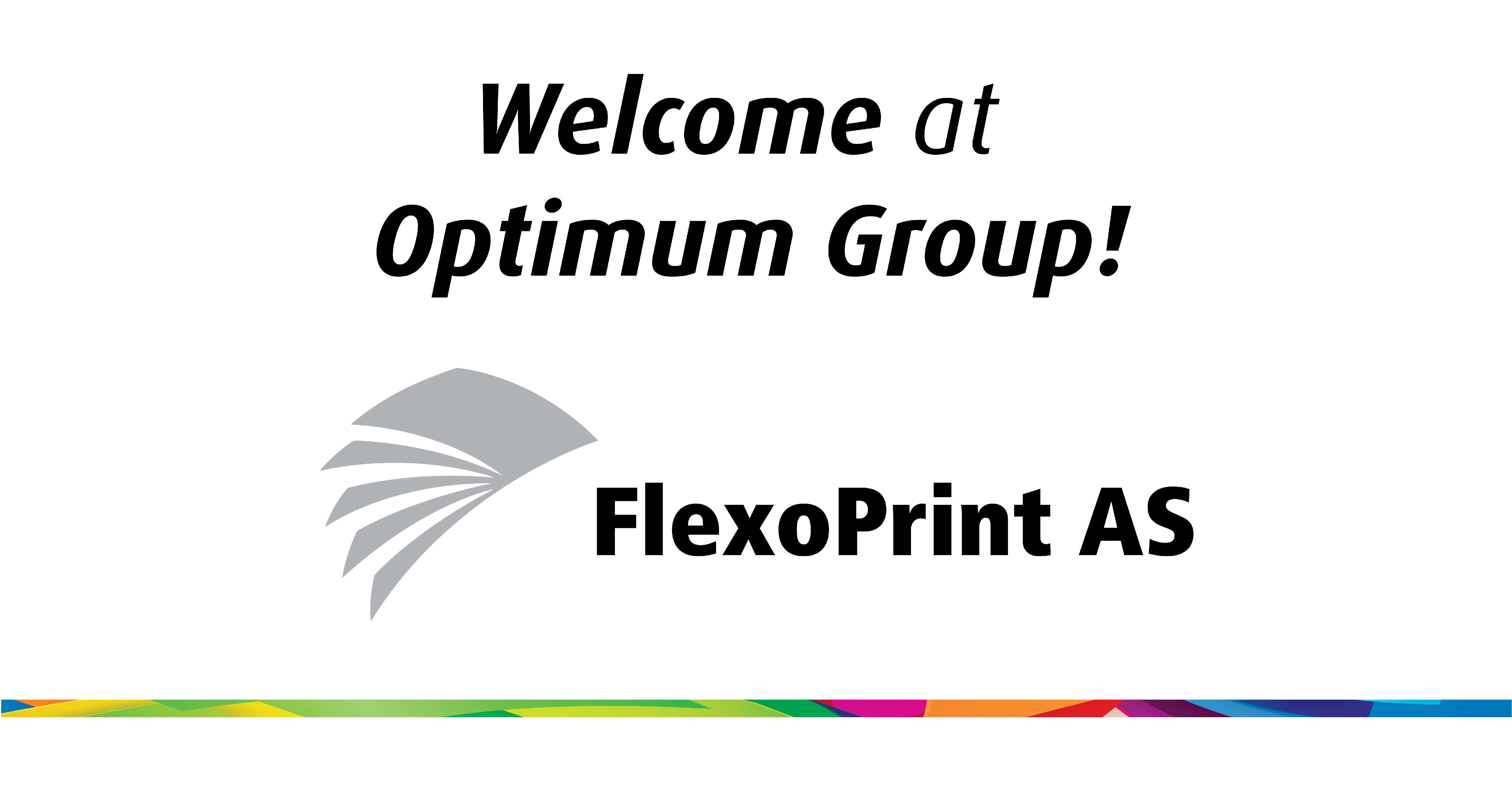 The FlexoPrint Group, a leading producer of self-adhesive labels, becomes part of the Optimum Group.